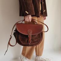 Euro Vintage Leather Shoulder Bag