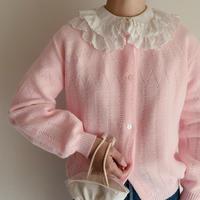 70's Euro Vintage Spring Knit Cardigan