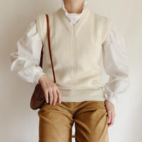 Euro Vintage Knit Vest
