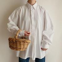 Euro Vintage Cotton Folk Design Shirt