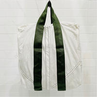 VINTAGE PARACHUTE TOTE BAG 〈GREEN BELT〉