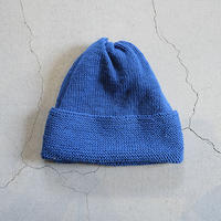 COTTON KNIT CAP_MARINE BLUE