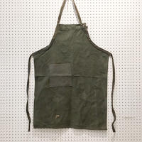 【USED】VINTAGE TENT FABRIC APRON_1108