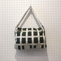 【USED】VINTAGE PARACHUTE FABRIC BAG_D