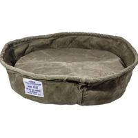 【店頭のみ】VINTAGE TENT FABRIC PET BED〈L〉