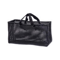 PLASTIC STRAW BAG〈BLACK〉