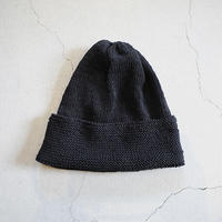 COTTON KNIT CAP_BLACK