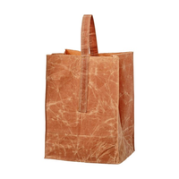 GROCERY BAG WITH HANDLE 〈LARGE/BROWN〉