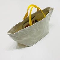 VINTAGE SLING BELT HANDLE TOTE 〈SMALL〉YELLOW HANDLE