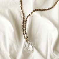 big Swarovski necklace