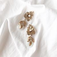 vintage Leaf earring