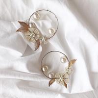 vintage glas pearl