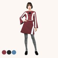 ワンサイドWHラインラップスカート