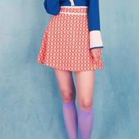 フラワージオメトリースカート