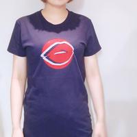 リップマークTシャツ
