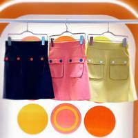 ダブルワークポケットスカート
