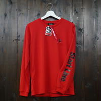 StartLine Active Long T-shirt/アクティブロングTシャツ(Red/レッド)