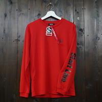 【残りわずか】StartLine Active Long T-shirt/アクティブロングTシャツ(Red/レッド)