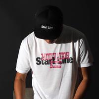 MOTIVATION KEEP Round T-shirt/モチベーションキープTシャツ (White/ホワイト)