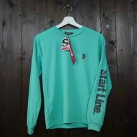 【残り3点】StartLine Active Long T-shirt/アクティブロングTシャツ(Green/グリーン) ウィメンズ限定カラー