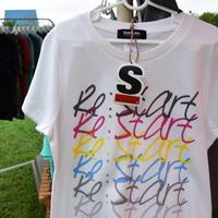 Re:Start T-shirt/リスタートTシャツ(White/ホワイト)キッズ