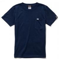 【XS残り1点】Lee with SL Pocket T-shirt/リーウィズポケットTシャツ(Navy/ネイビー)  ウィメンズ
