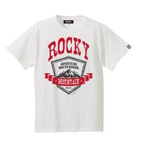 【残りわずか】ROCKY MOUNTAIN Active T-shirt/ロッキーマウンテンTシャツ(White/ホワイト)
