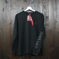 【残りわずか】StartLine Active Long T-shirt/アクティブロングTシャツ(Black/ブラック)