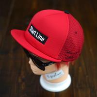 StartLine Box Logo Cap/ボックスロゴキャップ (Red/レッド)