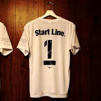 【M残り1点】StartLine 1st Anniversary T-shirt/1周年記念Tシャツ(White/ホワイト)