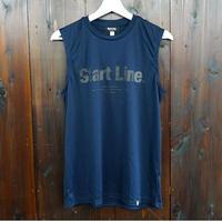 【L残り1点】World Marathon City No-sleeve/ワールドマラソンシティーノースリ(Navy/ネイビー)