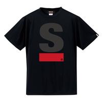 Big S Active T-shirt/ビッグエスアクティブTシャツ(Black/ブラック)