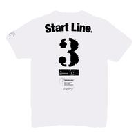 【受注生産】StartLine 3rd Anniversary T-shirt/3周年記念Tシャツ(White/ホワイト)