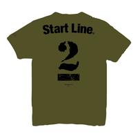 【受注生産】StartLine 2nd Anniversary T-shirt/2周年記念Tシャツ(Khaki/カーキ)