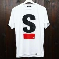 【SS,S残り1点】Big S Active T-shirt/ビッグエスアクティブT(White/ホワイト)