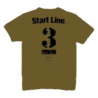 【受注生産】StartLine 3rd Anniversary T-shirt/3周年記念Tシャツ(Khaki/カーキ)