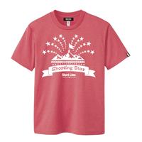 Shooting Star T-shirt/シューティングスターTシャツ(Red/レッド)