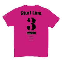 【受注生産】StartLine 3rd Anniversary T-shirt/3周年記念Tシャツ(Pink/ピンク)