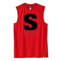 Big S Active No-sleeve/ビッグエスノースリ(Red/レッド)