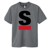 Big S Active T-shirt/ビッグエスアクティブTシャツ(Gray/グレー)  ウィメンズ限定カラー