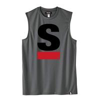 Big S Active No-sleeve/ビッグエスノースリ(Gray/グレー)  ウィメンズ