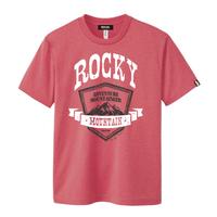 【M残り1点】ROCKY MOUNTAIN Active T-shirt/ロッキーマウンテンTシャツ(Red/レッド)