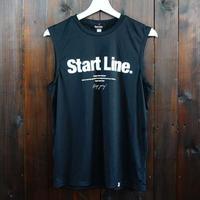 【残りMのみ】World Marathon City No-sleeve/ワールドマラソンシティーノースリ(Black/ブラック)