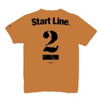 【受注生産】StartLine 2nd Anniversary T-shirt/2周年記念Tシャツ(Camel/キャメル)