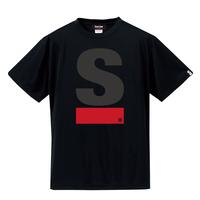 Big S Active T-shirt/ビッグエスアクティブTシャツ(Black/ブラック)  ウィメンズ