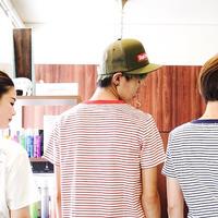 【M残り1点】Lee with SL Pocket Border T-shirt/リーウィズポケットボーダーTシャツ(Red/レッド)