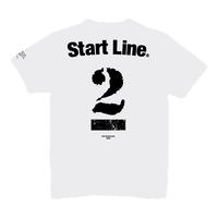 【受注生産】StartLine 2nd Anniversary T-shirt/2周年記念Tシャツ(White/ホワイト)