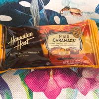 Hawaiian Host マウイキャラメルマカダミアナッツチョコ 6枚