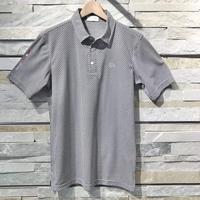 Camicia Sportiva+ [ 51-2201242 ] アイスコットンJQ/SD半袖ジャガードシャツ - ネイビー(98)