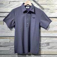MOCO [ 21-2211140 ] アルビニドライカノコ半袖シャツ - ネイビー(98)